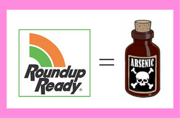 Roundup equals arsenic